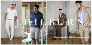 J Hilburn Custom Men's Clothier Style Consultant Christina Frederick